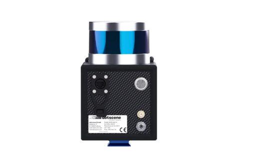 dotcube 3D-Handlaserscanner Rückansicht