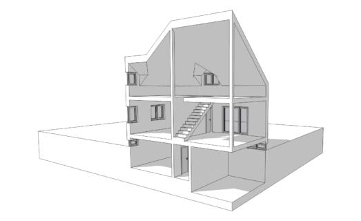 Detailliertes CAD-Modell