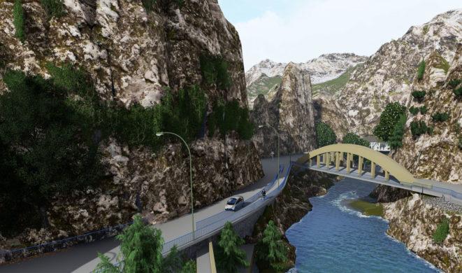 Mobiles-Laserscanning-Brücke
