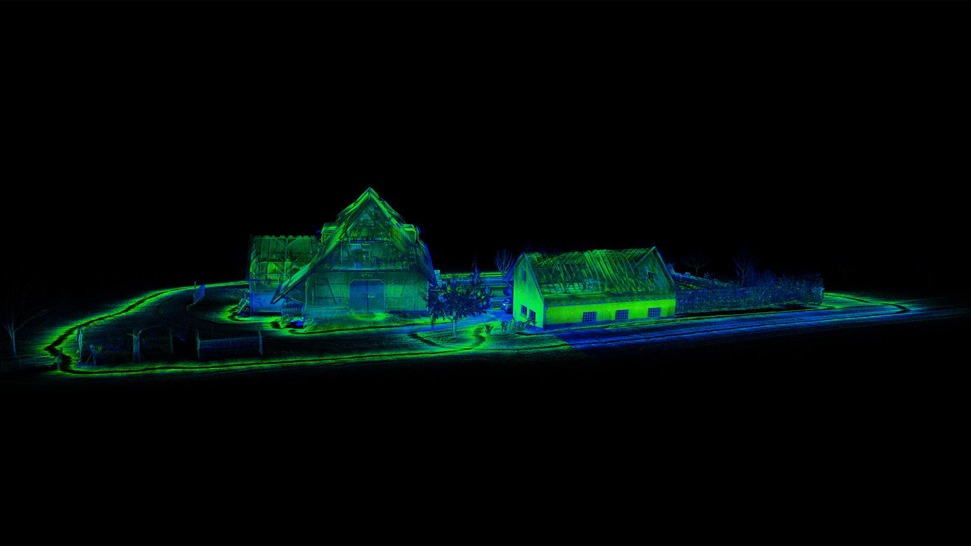 Mobiles 3D-Laserscanning – historischen Gebäudebestand effizient erfassen
