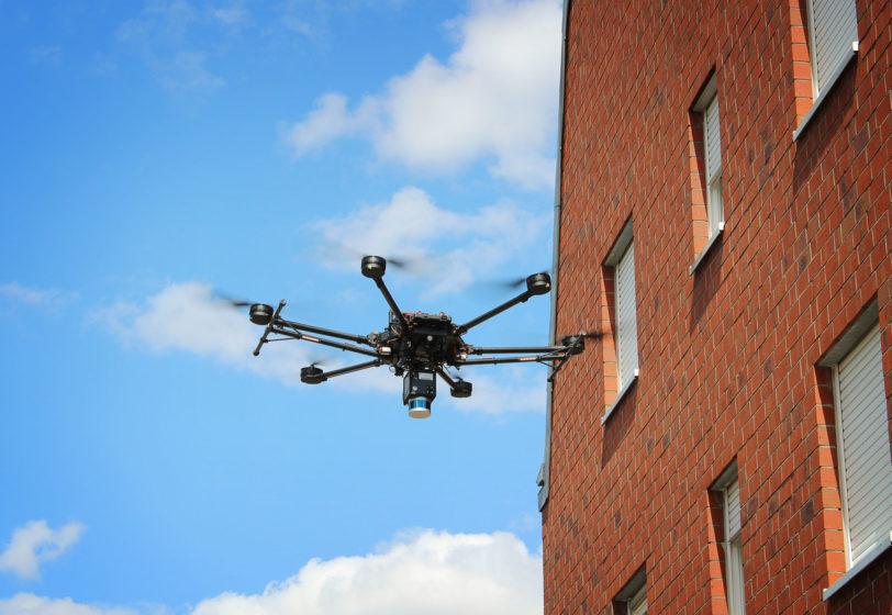 Drohne-Laserscanner-Bestandserfassung