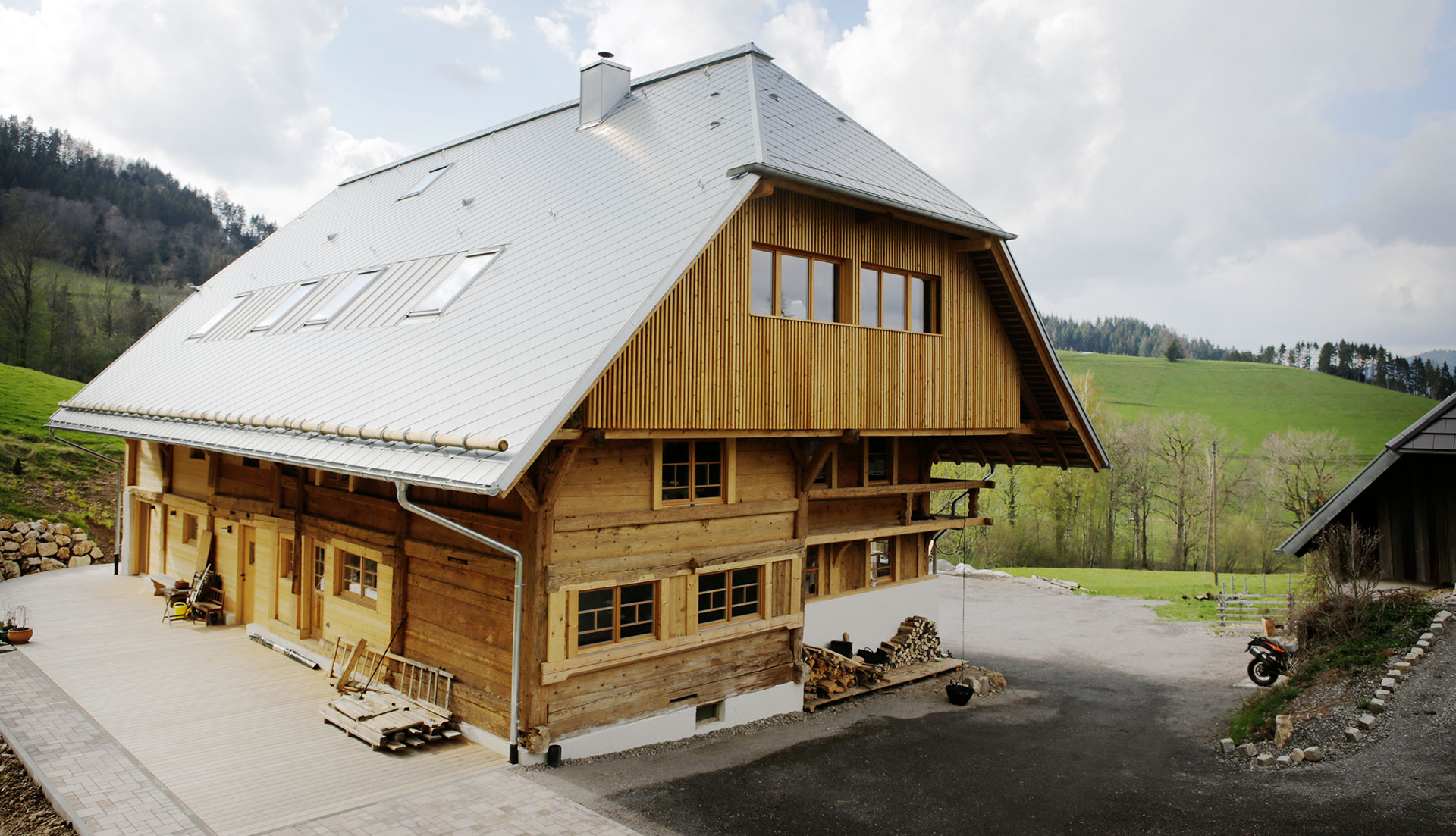 Refurbished house in the Black Forest